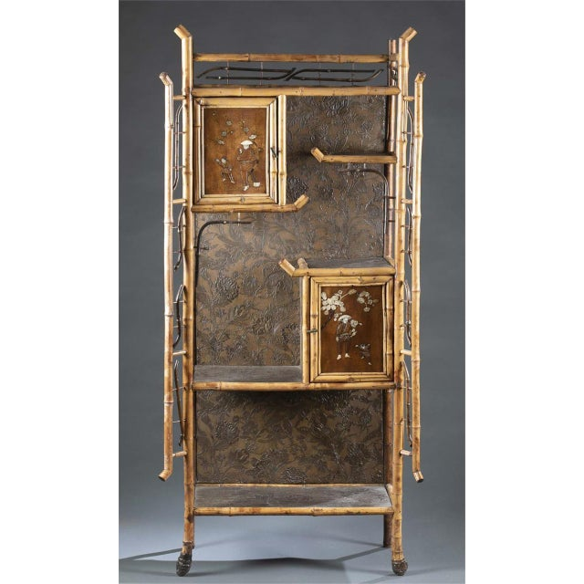 Wood 19th Century Chinoiserie Cabinet For Sale - Image 7 of 7