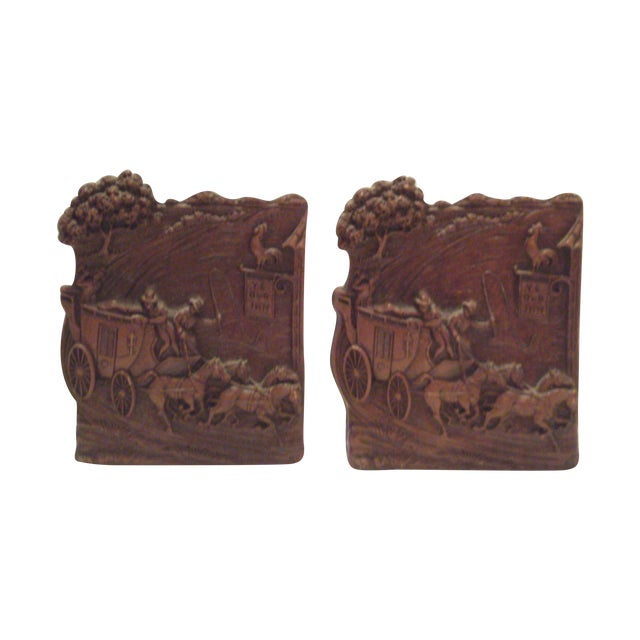 1930's-40's Syroco Bookends - Image 1 of 8