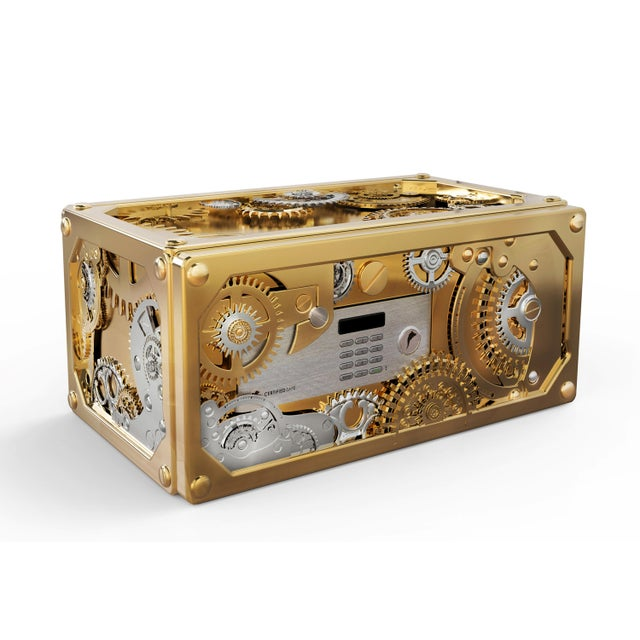 Contemporary Baron Luxury Safe From Covet Paris For Sale - Image 3 of 3