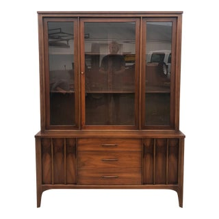 Mid Century Modern Kent Coffey Perspecta Style China Cabinet For Sale