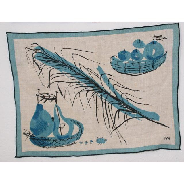 Vera Neumann Linen Placemats - Set of 4 - Image 5 of 7