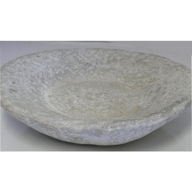 Hand-Carved Stone Bowl For Sale - Image 4 of 6