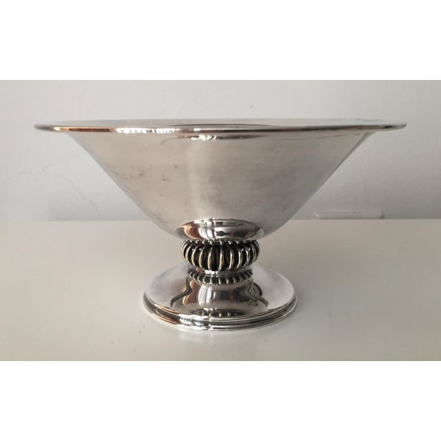 Danish Modern Silver Bowl-E.Dragsted - Image 5 of 7