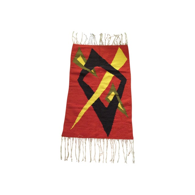 Tribal Accent Rug - 2′10″ × 4′9″ - Image 1 of 8