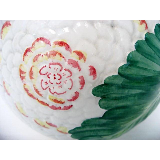 Ceramic Italian Majolica Pitcher For Sale - Image 7 of 10