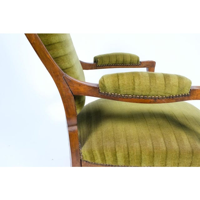 1890's French Rococo-Style Armchair For Sale - Image 9 of 13