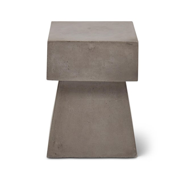 Cindy Stool, Dark Grey For Sale - Image 4 of 8