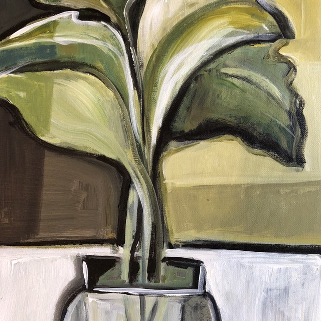 Expressionism Original Stewart Ross Modernist Still Life Painting For Sale - Image 3 of 7