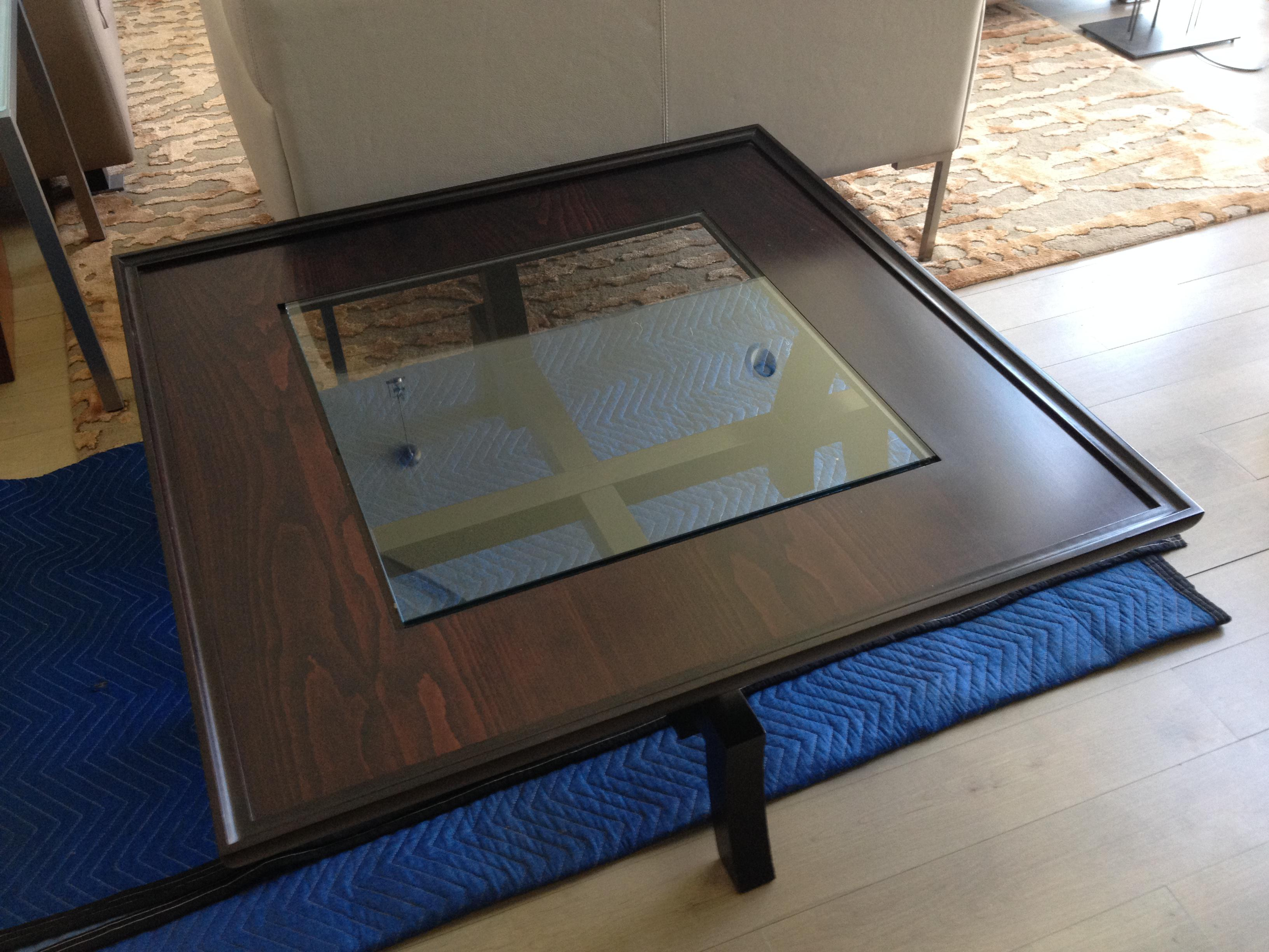 Roche Bobois Dark Stained Cherry Coffee Table With An Asian Influence. Have  Loved This Piece