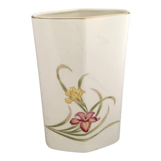 Vintage Japanese Porcelain Vase For Sale
