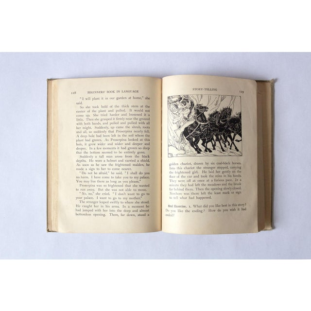 """Paper 1920s """"Oral and Written English"""" School Book For Sale - Image 7 of 9"""