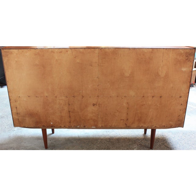 Danish Teak Credenza by Ib Kofod-Larsen for Faarup For Sale In New York - Image 6 of 13