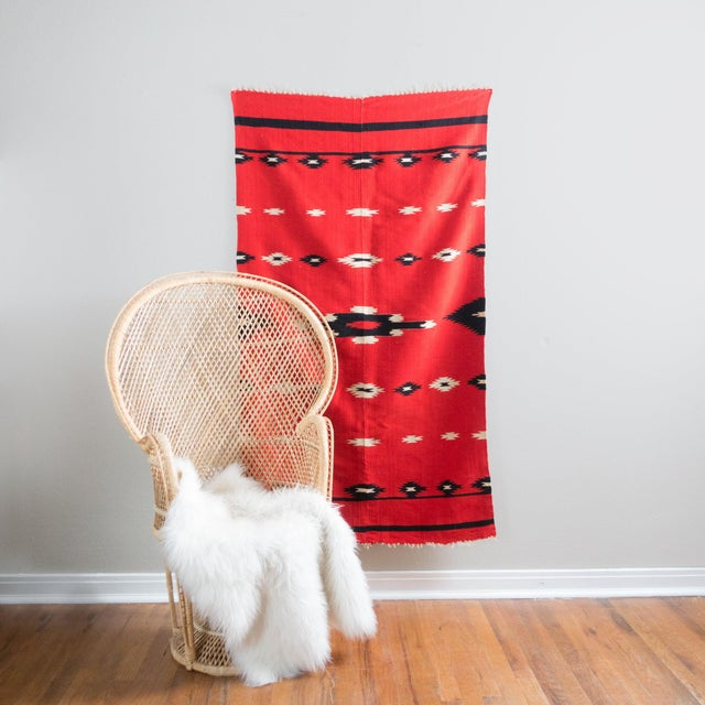 Antique Navajo Style Blanket - Image 5 of 10