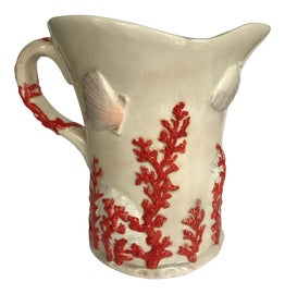 Image of Antique White Pitchers