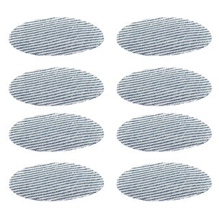 Blue Mini Stripe Placemats - Set of 8 For Sale