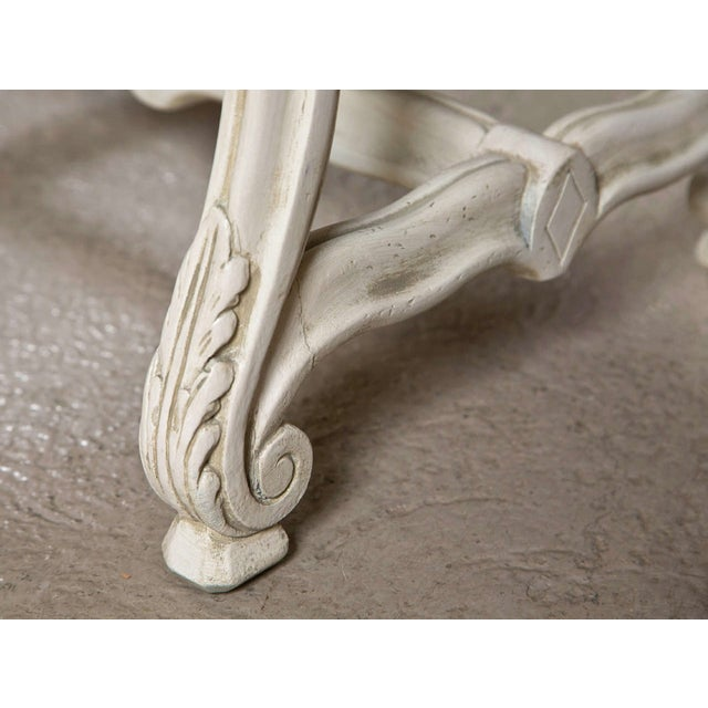 Regency Carved Stools - A Pair For Sale - Image 4 of 8