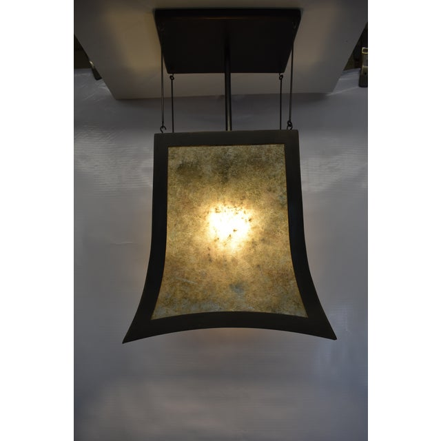 Dirk Van Erp Medium Torii Pendant Light For Sale - Image 4 of 8