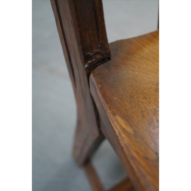 Brandt Ranch Oak Rust Dining Chairs - Set of 4 - Image 9 of 10