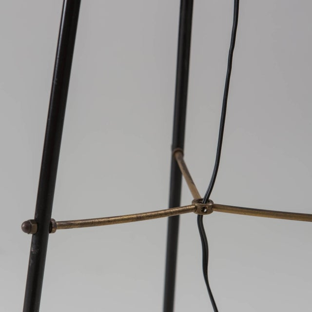 Glass Stilnovo Floor Lamp For Sale - Image 7 of 8
