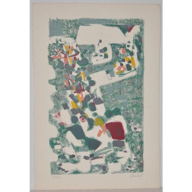 Alexandre Sacha Garbell (1903-1970) Original Pencil Signed Lithograph c.1950 Pencil signed lithograph by Latvian artist...
