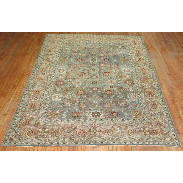 A 20th Century Room Size Malayer Rug with an all-over design. Professionally Cleaned and able to endure heavy traffic if...