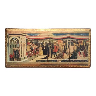 Vintage Florentine Adimari-Martelli Wedding Rectangular Box