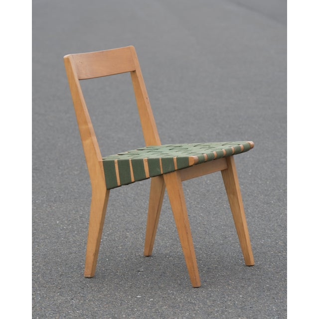 1940s 1940s Mid-Century Modern Jens Risom for Knoll Side Chair For Sale - Image 5 of 10