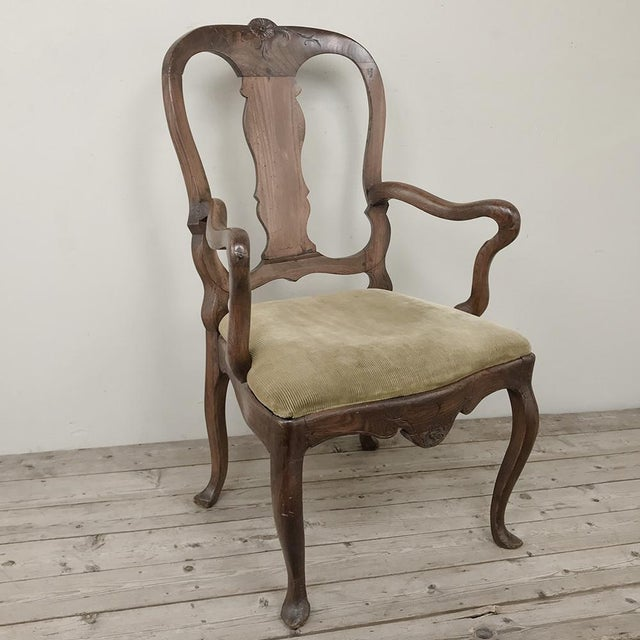 18th Century Swedish Armchair For Sale - Image 4 of 4