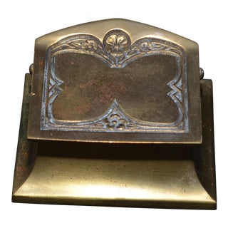 Bronze Art Nouveau Butterfly Stamp Box For Sale