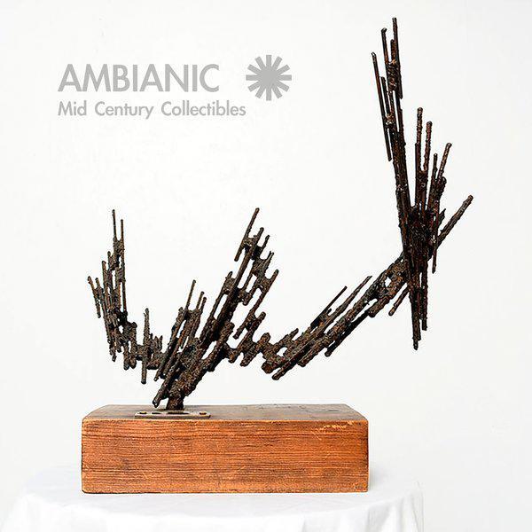 1970s 1977 Stanyo Kaminsky Brutalist Sculpture For Sale - Image 5 of 8