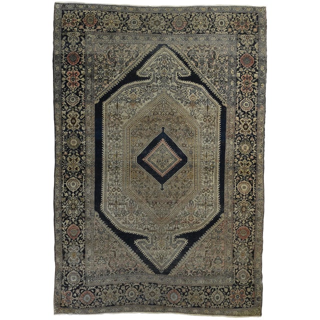 Antique Persian Sarouk Fereghan Rug - Image 1 of 3
