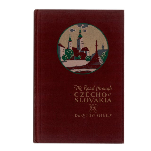 """1930 """"The Road Through Czechoslovakia"""" Collectible Book For Sale In Atlanta - Image 6 of 6"""