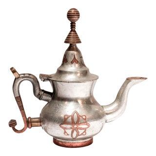 African Tuareg Tea Pot Mauritania For Sale