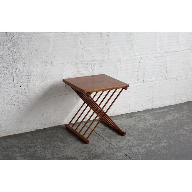 Folding End Tables - Set of 2 - Image 5 of 10