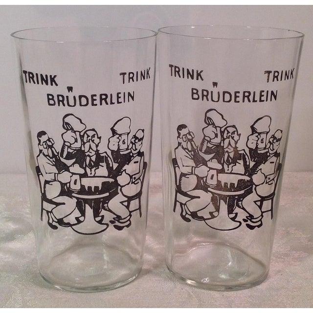Vintage German Beer Glasses - Set of 3 - Image 3 of 5