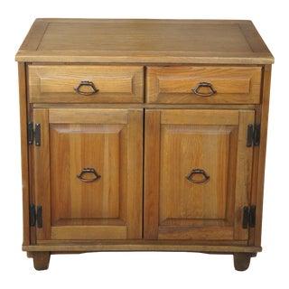Brandt Ranch Oak Two Door Southwestern Buffet Cabinet For Sale