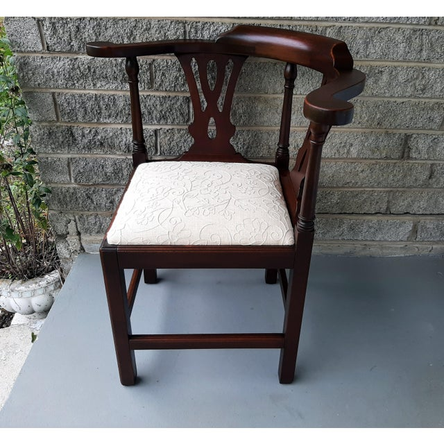 Item offered is a nice quality well crafted Bartley Furniture Co. The Bartley Collection 1980s quality reproduction of a...