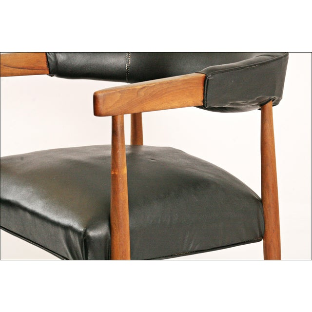 Danish Modern Accent Chairs - Pair - Image 8 of 11