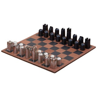 Modernist Chess Set #5606 by Carl Auböck For Sale