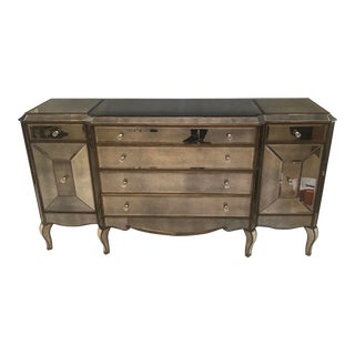 Horchow Jerilynn Mirrored Dresser/Buffet For Sale
