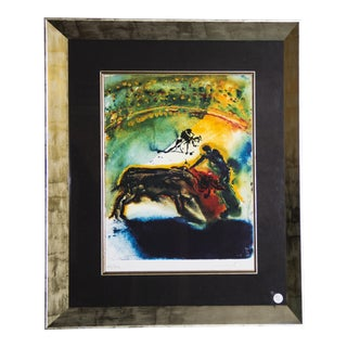 Salvador Dalí Hand-Signed Lithograph For Sale
