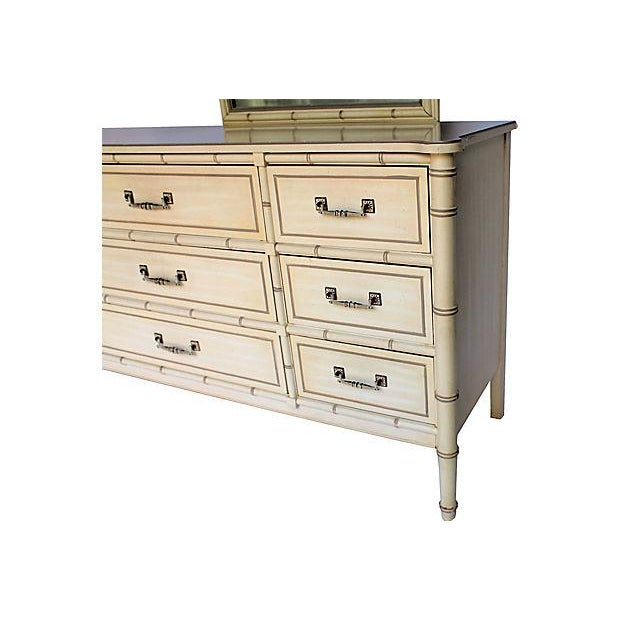 Henry Link Bamboo-Style Dresser - Image 5 of 10