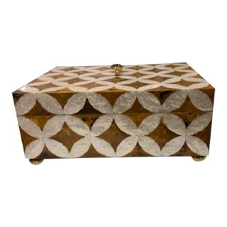 Art Deco Maitland-Smith Mother of Peal Box For Sale