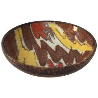 Aldo Londi Bitossi Zitaly Pottery Bowl For Sale