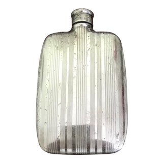 Small Napier Sterling Silver Ladies or Perfume Flask For Sale