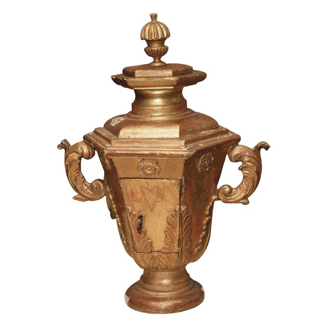 Giltwood Urn Form Tabernacle For Sale