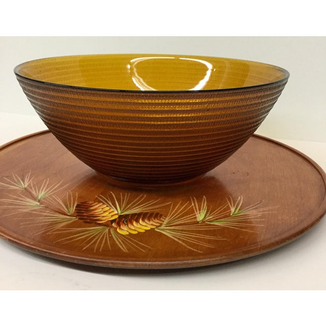Mid Century Modern Soup or Dip Serving Set For Sale - Image 4 of 9