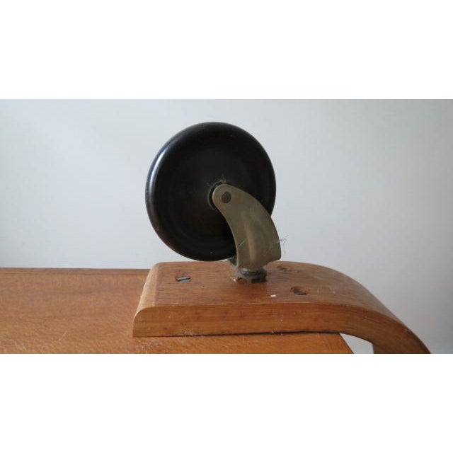 Birch 1950s Mid-Century Modern Cees Braakman for Pastoe Birch Tea Cart For Sale - Image 7 of 12