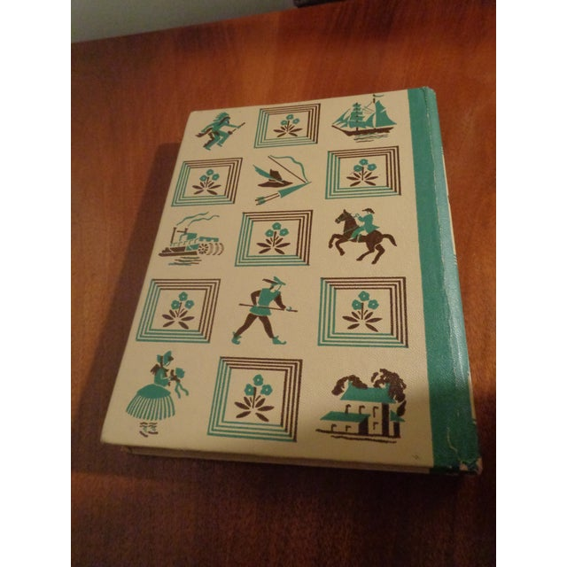 """Early American 1940's Early American """"Alice in Wonderland"""" by Lewis Carroll Book For Sale - Image 3 of 6"""