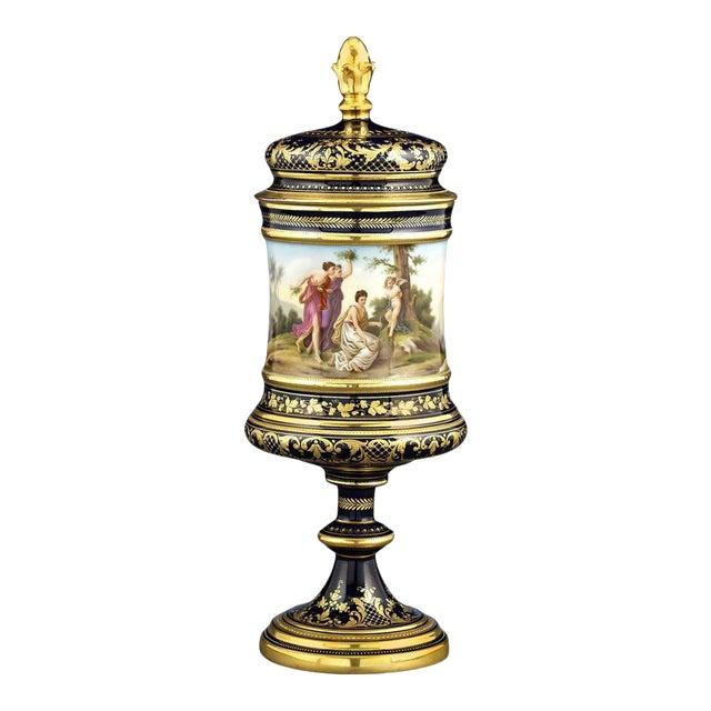 Royal Vienna Porcelain Urn For Sale